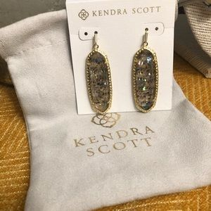 Kendra Scott Lauren Earrings- Crushed Abalone